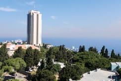 """פרויקט מגידו 14, חיפה. האגף הדרומי. דירת הפאר בקומה העליונה: 152מ""""ר במפלס אחד."""