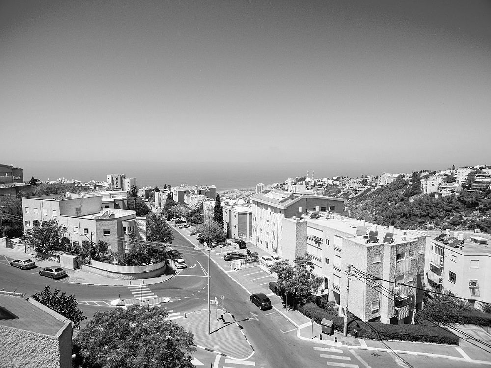 """פרויקט אלכסנדר ינאי 29, כרמליה. דירה 8, הקומה הרביעית, 127 מ""""ר + מרפסת לנוף."""