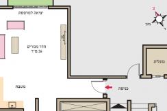 """שד' הצבי 1. מרכז הכרמל. חיפה. הטוב ביותר, הקרוב ביותר. 1.42 מיליון ש""""ח."""