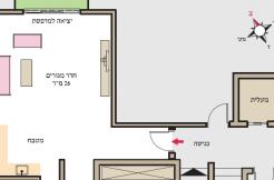 """שד' הצבי 1. מרכז הכרמל. חיפה. הטוב ביותר, הקרוב ביותר. 1.38 מיליון ש""""ח."""